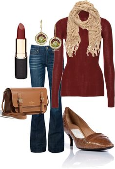 """""""Fall Office - casual Friday"""" by ellisonkaty on Polyvore"""