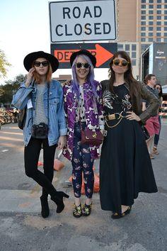 El primer día de la música se inicia hoy en el # SXSW con este trío bien equilibrada de estilo de la calle