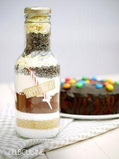 Happy Birthday – heute als Geburtstags-Backmischung im Glas