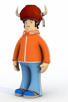 Quaiman.3D character