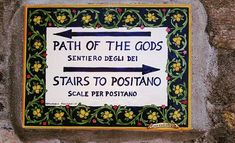 The #Path of the #Gods: Sentiero degli Dei. Ideal for those who love trekking and discovering the beauty of the #nature.