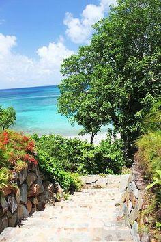 10 Serenata De La Playa Klein Bay St John Usvi Ideas St John Usvi Playa Caribbean Villas