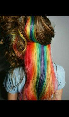 Rainbow peekaboo