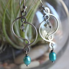 122 Wire jewelry | beads and wire | wire earrings