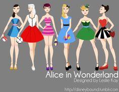 Alice on Wonderland designed by Leslie Kay