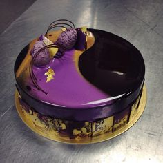 Chocolate/chocolate Easter entremet for Norman Love