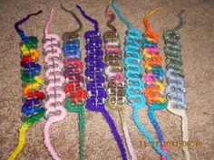 crochet pop tab bracelets. $2.50, via Etsy.