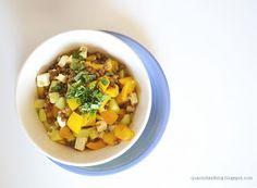 Denny Chef Blog: Insalata di peperoni e lenticchie