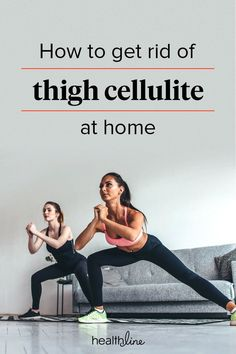 How to Get Rid of Cellulite on Thighs: Home Remedies and More #CelluliteCream Thigh Cellulite, Cellulite Wrap, Causes Of Cellulite, Cellulite Exercises, Cellulite Remedies, Reduce Cellulite, Anti Cellulite, Cellulite Workout, Top