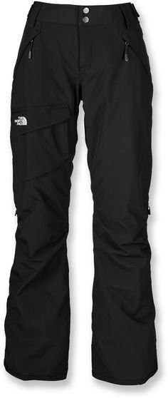The North Face Freedom Low-Rise Boot-Cut Insulated women's snow pants allow enhanced motion on the move. They also stand up to winter temperatures with a waterproof, breathable coating. The North Face, North Face Women, North Faces, Camping Outfits, Ski Outfits, Travel Outfits, Fashion Outfits, Best Hiking Pants, Hiking Shoes