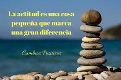 La actitud es una cosa pequeña que marca una Gran Diferencia.