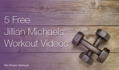 5 Free Jillian Michaels Workouts- full length videos you can watch at home or on the go! www.Mrs.Fitness.com