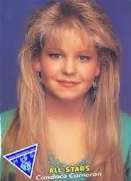 Bangs made an appearance as a popular hairstyle in the 1980s.  Women used methods such as teasing, hairspray, and blow drying as a way to achieve this look.  The larger and taller the bangs, the more fashionable you were.
