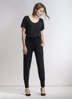 248be3d94b6c Baukjen Elisa Jersey Jumpsuit in Black