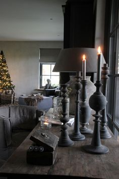 Grey Colors, 50 Shades Of Grey, Country Living, Interior Inspiration, Rustic Decor, Maya, Christmas Crafts, Home And Family, Home And Garden