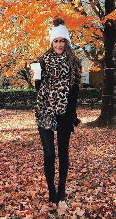 A pop of leopard!