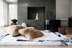 fur & fireplace