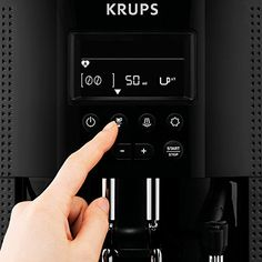 KRUPS EA81 Pisa Product Review - How To Use User Panel