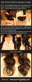 Pinterest Tutorials: Soft Pretty Waves With No Mousse Or Heat