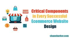 Critical Components in Every Successful Ecommerce Website Design   If you're looking for the easiest and most cost-effective way to start a product selling business, consider e-commerce. You can also make use of e-commerce to simplify your existing business. If you keep an eye on some critical components during ecommerce website design, you will enjoy a great return on investment.   #Ecommerce #CriticalComponents #SuccessfulEcommerce #WebsiteDesign #opportunity