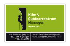 Visitekaartje Klimcentrum Nijmegen - Stollenberg