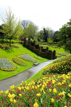 Guildford Castle grounds by angussinclair65, via Flickr
