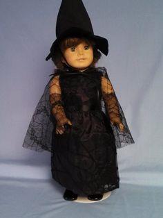 Elegant Purple Spiderweb Witch Costume for von DollFashionsByLuanne