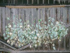 DIY Eucalyptus Chandelier