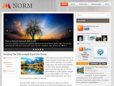 Norm WordPress theme