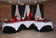 Black and Red wedding ideas | wedding ideas | Pinterest | Red ...