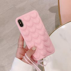 Cases & Covers For Iphone X 6 7 8 Plus Heart Soft Silicone Shockproof Bumper Case Skin Cover Iphone 7 Plus, Iphone 11, Iphone Cases, Apple Iphone 6, Lanyard Designs, Accessoires Iphone, Ipad, Phone Gadgets, Pink Iphone