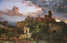 Jasper Francis Cropsey, 'The Spirit of War,' 1851, National Gallery of Art, Washington D.C.
