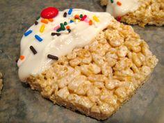 Cupcake Rice Krispie Treat