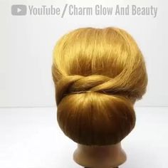 Braided Hairstyles, Chignon Hairstyle, Easy Hairstyle Video, Bun Hairstyles For Long Hair, Work Hairstyles, Quick Hairstyles, Everyday Hairstyles, Natural Hair Styles, Medium Hair Styles
