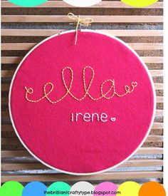 8 Adorable (and Easy!) Name Art Ideas for Your Child's Room