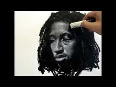 ▶ Oil Stick Portrait Demo, by Zimou Tan - YouTube