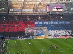 Schalke und der FC Nürnberg Fanfreundschaft