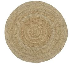 Round Jute Rug - Natural #potterybarn