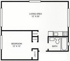 Best Floor Plans OneBedroom  Office Layout Floor Plan Template