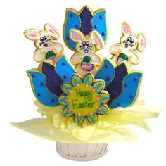 Image detail for -Holiday Gifts - Easter Bunny Sugar Cookie Basket