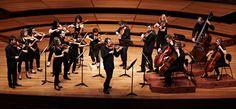Richard Tognetti & the Australian Chamber Orchestra. Photo by Jon Frank.