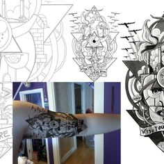 Pink Floyd inspired tattoo needed for Floyd!! Diseño de Giulio Rossi