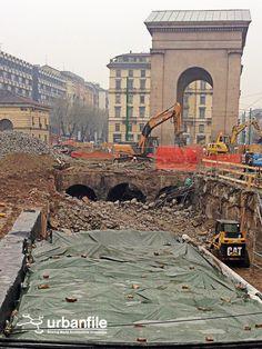 Milano: riaffiorato antico ponte del '500 che permetteva di passare sopra al Ticinello...