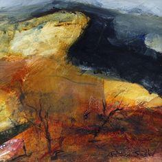 Landscapes, landscape painting, landscape art by Patricia Sadler Contemporary Landscape, Contemporary Paintings, Abstract Landscape, Abstract Art, Abstract Painters, Abstract Expressionism, Seascape Paintings, Landscape Paintings, Illustrations