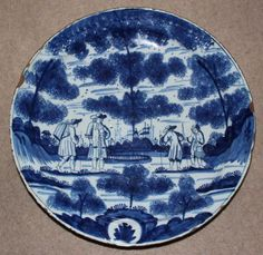 Delft dish - Stock - Moxhams Antiques