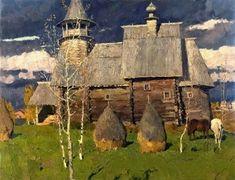 Artist - Vladmir Stozharov (1926-1973) Russian Painter.