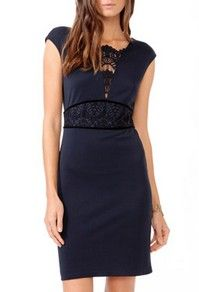Little Black Dress -love the lace above the waist
