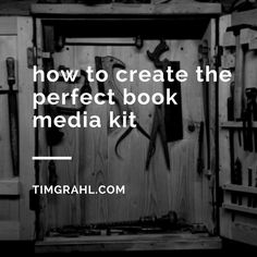 How to Create the Perfect Book Media Kit | #selfpublishing #IndieAuthor #selfpub