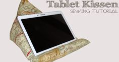 Tablet Cushion Sewing Tutorial Free Sewing Tutorial Cuts Free Fast Fast Teenagers Teenagers DIY Crafting DIY Fabric Cover E Book Reader Bookkeeper Sofa Reading handmade selfmade gift Christmas Birthday Children Men, Technic E Book Reader, Sewing Hacks, Sewing Tutorials, Sewing Crafts, Sewing Tips, Tutorial Sewing, Sewing Patterns Free, Free Sewing, Ipad