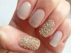 Pinterest: @icristy13| Love these caviar nails